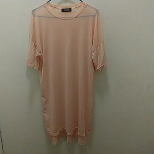 long tee dress